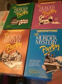 Murder mystery games x7
