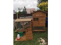 Chicken coop and run plus extras
