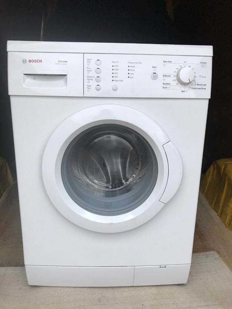Bosch Classixx 1200 Express Washer