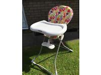 REDUCED Graco Fruit Salad High Chair