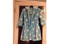 BNWT John Lewis Girls Dressing Gown