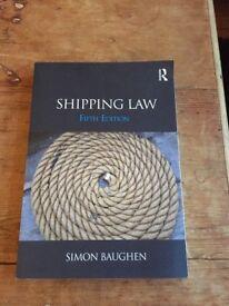 SHIPPING LAW - Simon Baughen