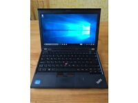 "Lenovo ThinkPad X230 12"" laptop - Intel Core i5 2.6Ghz, 4GB RAM, 128GB SSD"