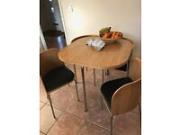 IKEA Fusion Space Saving Dining Table and Chairs