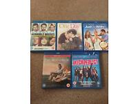 Various Romantic Comedy Blu Rays