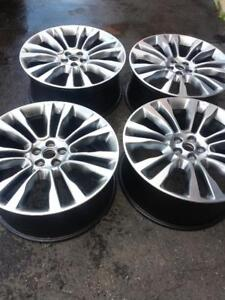 BRAND NEW  TAKE OFF  LINCOLN MKX  2016 FACTORY OEM 21 INCH  ALLOY WHEELS WITH SENSORS.