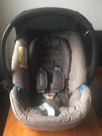 Grey mothercare 0-12 months car seat