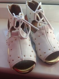 New River Island Shoes size infant 7