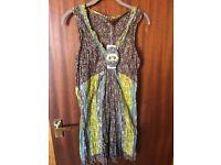 Brand New Joe Browns crinkle fabric Tunic / Mini