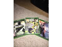 Xbox One 500gb with 3 games for sale & headset