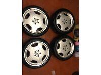 Mercedes Benz Alloy Wheels & Tyres