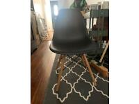 Eiffel style black chair