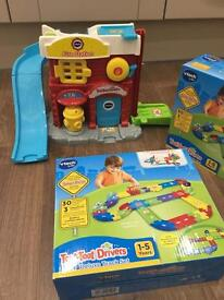 Vtech toot toot drivers fire station and track