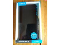 Brand new Moto G4 phone cover with Screen Protector