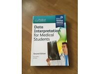 Data Interpretation For Medical Students, 2012 - LIKE NEW