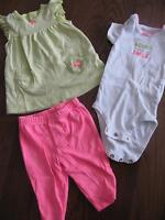 3-6 month spring/summer girl clothing