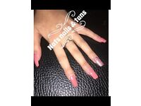 Recently qualified nail technician mobile or home based