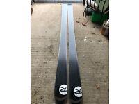 Rossignol bandit skis 184cm