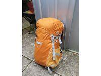 Orange Lowepro Photo Sport 200 AW Adventure Backpack Digital SLR Camera Bag