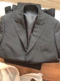 M&S New grey suit size large