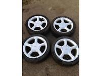 Ford Escort / Fiesta 16'inch Five Spoke Alloy Wheels
