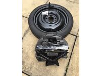 Ford fiesta spare wheel space saver wheel set with continental tyre