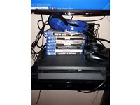 Playstation 4 slim with 7 games