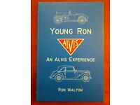 ALVIS BOOK SIGNED BY RON WALTON