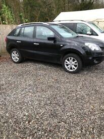 Renault koleos 58 plate