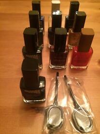 NEW BRANDED NAIL POLISHES.