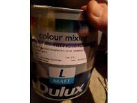 Paint - Dulux , full pot (2.5L) - Brooklyn night 5