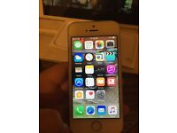 IPhone 5s white 16gb on ee