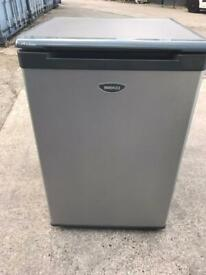 Hotpoint undercounter silver fridge can deliver