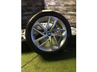 """17"""" Genuine SEAT Leon FR Cupra Sport Alloy Wheels Alloys VW Golf Caddy"""