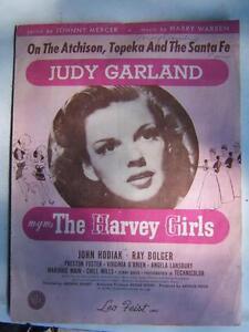judy garland sheet music 1945, $10 obo