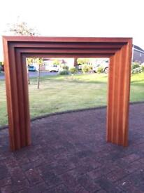 Bespoke Solid Wood Fire Surround, Cherry