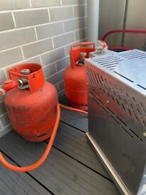CALOR 3.9KG 3.9 kg PROPANE GAS BOTTLE - MORE THAN HALF - SAVE THE DEPOSIT