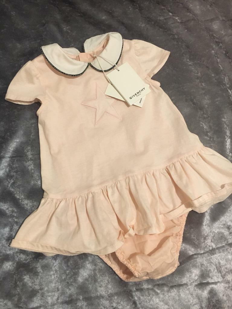 a61fb728fad5 Givenchy baby dress romper 18 months BNWT
