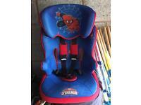 Spider man car seat