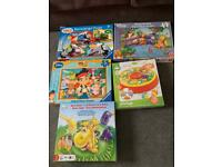 Childrens games and puzzles