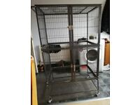 Large two tier cage