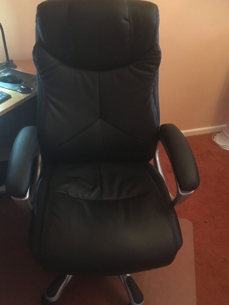 Terrific X Rocker Executive Height Adjustable Office Chair Black In Barton Seagrave Northamptonshire Gumtree Uwap Interior Chair Design Uwaporg