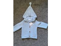 Brand new knitted jacket. 3-6 months