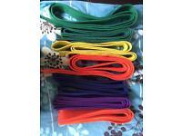 Kids 240cm karate belts