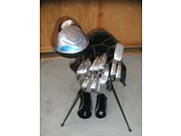 Golf Master Clubs with Trilogy Bag