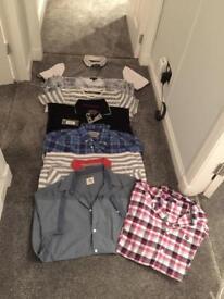 Various men's tops