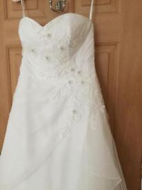 Pale ivory Wedding Dress