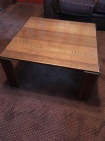 Italian Wood Coffee Table