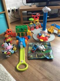 Assortment of toys. Excellent condition.