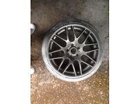 "Bmw csl wheels 19"" staggerd"